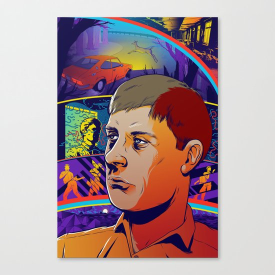 Ian Curtis 2 Canvas Print