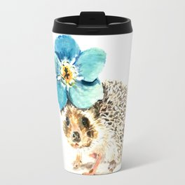 When life gets a little prickly, put a flower on it Travel Mug