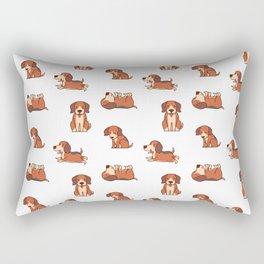 beagle puppy Rectangular Pillow