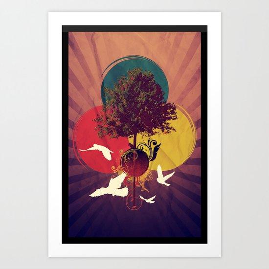 Wondertree Art Print