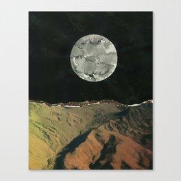 Galaxy Collage Canvas Print