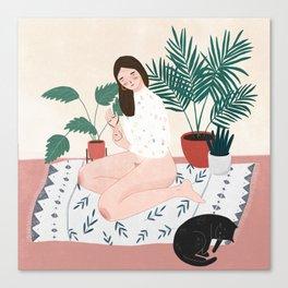 Weekend Vibing Canvas Print