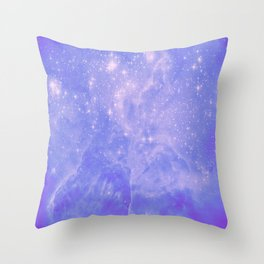 Galaxy a afar Throw Pillow