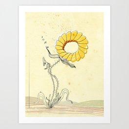 Thorny Art Print