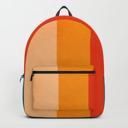 VINTAGE RETRO COLORS PATTERN Backpack
