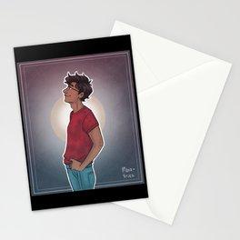 James - sun Stationery Cards