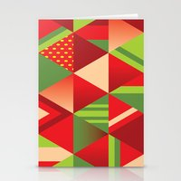 strawberry Stationery Cards featuring strawberry by Gray