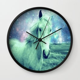 Celestial Dreams Horse Wall Clock