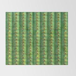 Cactus Mania Texture Throw Blanket