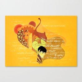 Vulcan Mind Canvas Print