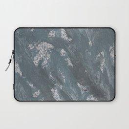 Blue Chalk and Black Ink Laptop Sleeve