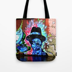 The Bluesman of Belfast Tote Bag