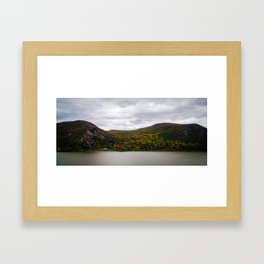 Hudson River Valley Framed Art Print