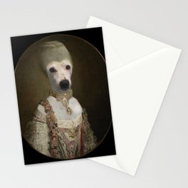 """Marie """"Chien""""toinette Stationery Cards"""