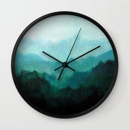 Mists No. 2 Wall Clock