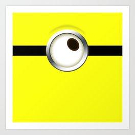 one-eye Art Print