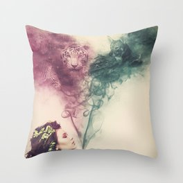 THE FRAGRANCE OF LIFE Throw Pillow