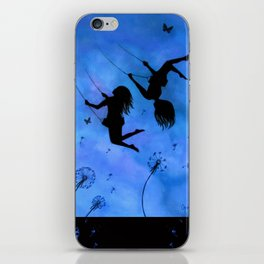 Free As The Wind iPhone Skin
