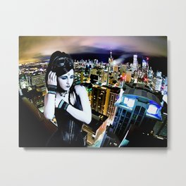 Cool Blue Reason Metal Print
