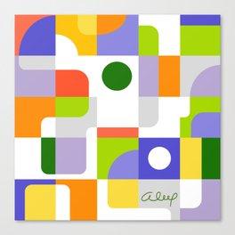 CITRUS PIECES Canvas Print