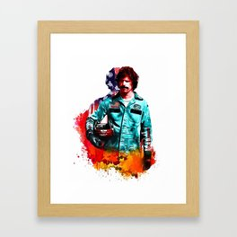 Rod Framed Art Print
