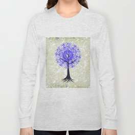 Abstract tree with background Long Sleeve T-shirt