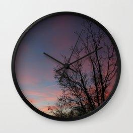 Trees #7 Wall Clock