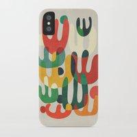 cactus iPhone & iPod Cases featuring Cactus by Picomodi