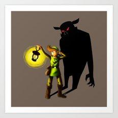 The Hero's Lantern Art Print