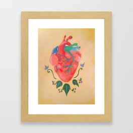 Corazon de Melon Framed Art Print