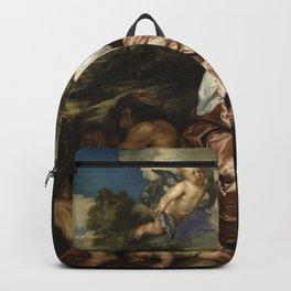 Anthony van Dyck - Portrait of Venetia, Lady Digby Backpack