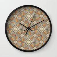 math Wall Clocks featuring Math Genius by Antique Images