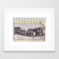 kansas Framed Art Prints featuring Kansas by Ursula Rodgers
