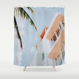 ocean drive / miami beach, florida Shower Curtain