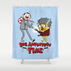 Time For a Big Adventure Shower Curtain