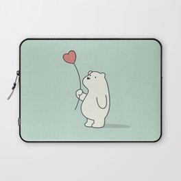 Kawaii Cute Polar Bear Laptop Sleeve