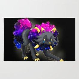 Fusion galaxy puppy Rug