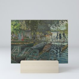 Bathers at La Grenouillère Mini Art Print
