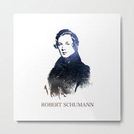 Robert Schumann Metal Print