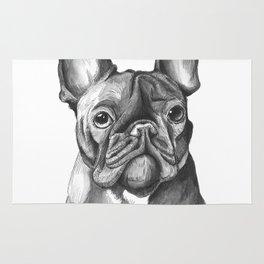 French Bulldog Drawing Rug