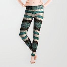 Vintage Striped Pattern - Westin Inspired Leggings