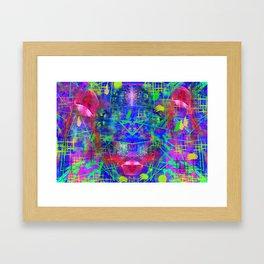 Abstract Energy 6 Framed Art Print