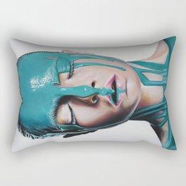 Paint on Cara Rectangular Pillow