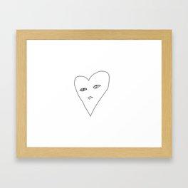 BBYDOLL Framed Art Print