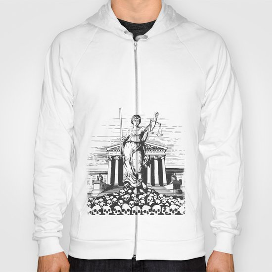 The Skulls of Justice Hoody