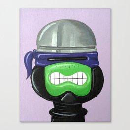Teenage Mutant Ninja Robocop Turtle Canvas Print