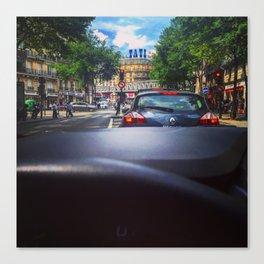 Barbes Paris Driving Canvas Print