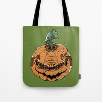 pumpkin Tote Bags featuring Pumpkin by Kape