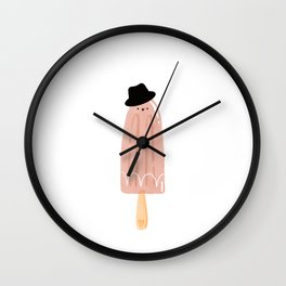 Love Dad Father Pops Pop-Pop Grandpa My Pops is Tops design Wall Clock