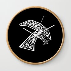 Celtic xenomorph Wall Clock